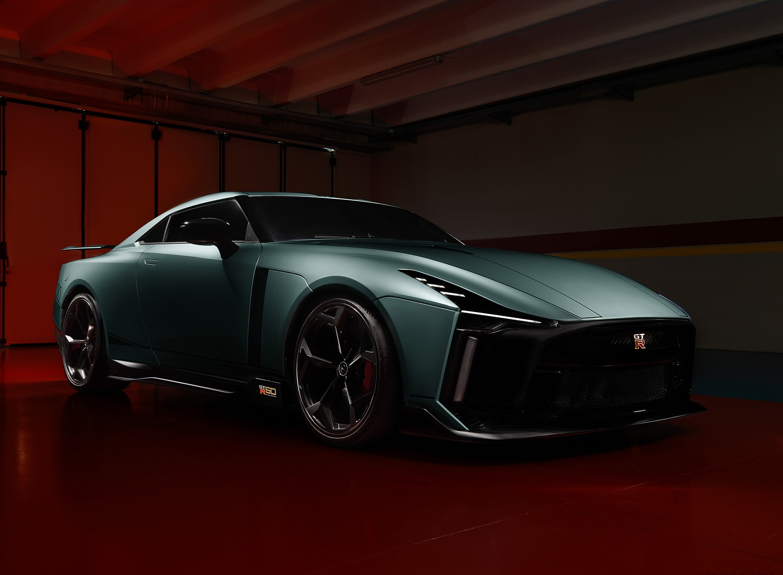 2020 Nissan GT-R 50 by Italdesign Front Three-Quarter Wallpapers (7)