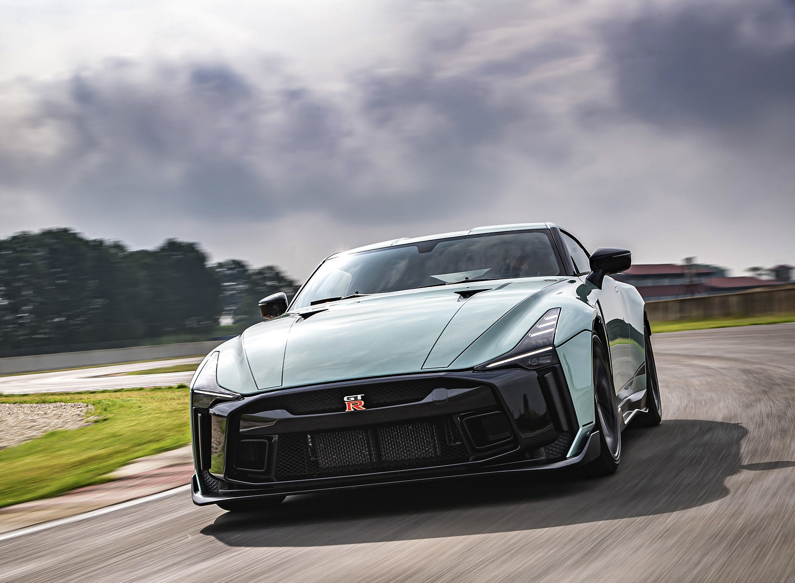 2020 Nissan GT-R 50 by Italdesign Front Wallpapers (2)