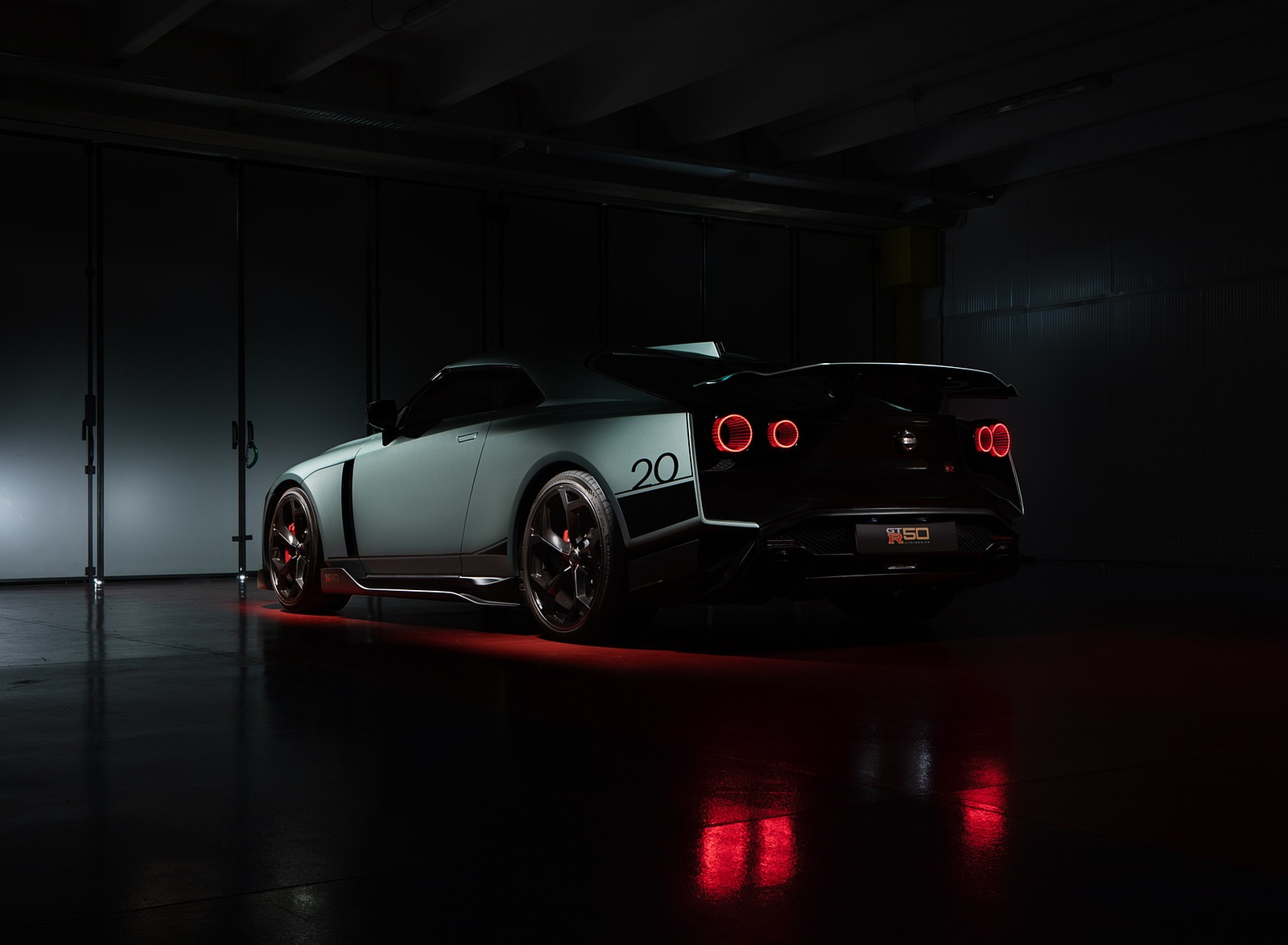 2020 Nissan GT-R 50 by Italdesign Rear Three-Quarter Wallpapers (9)
