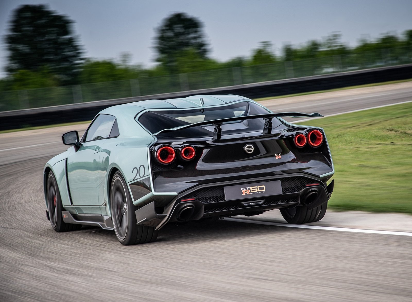 2020 Nissan GT-R 50 by Italdesign Rear Wallpapers (4)