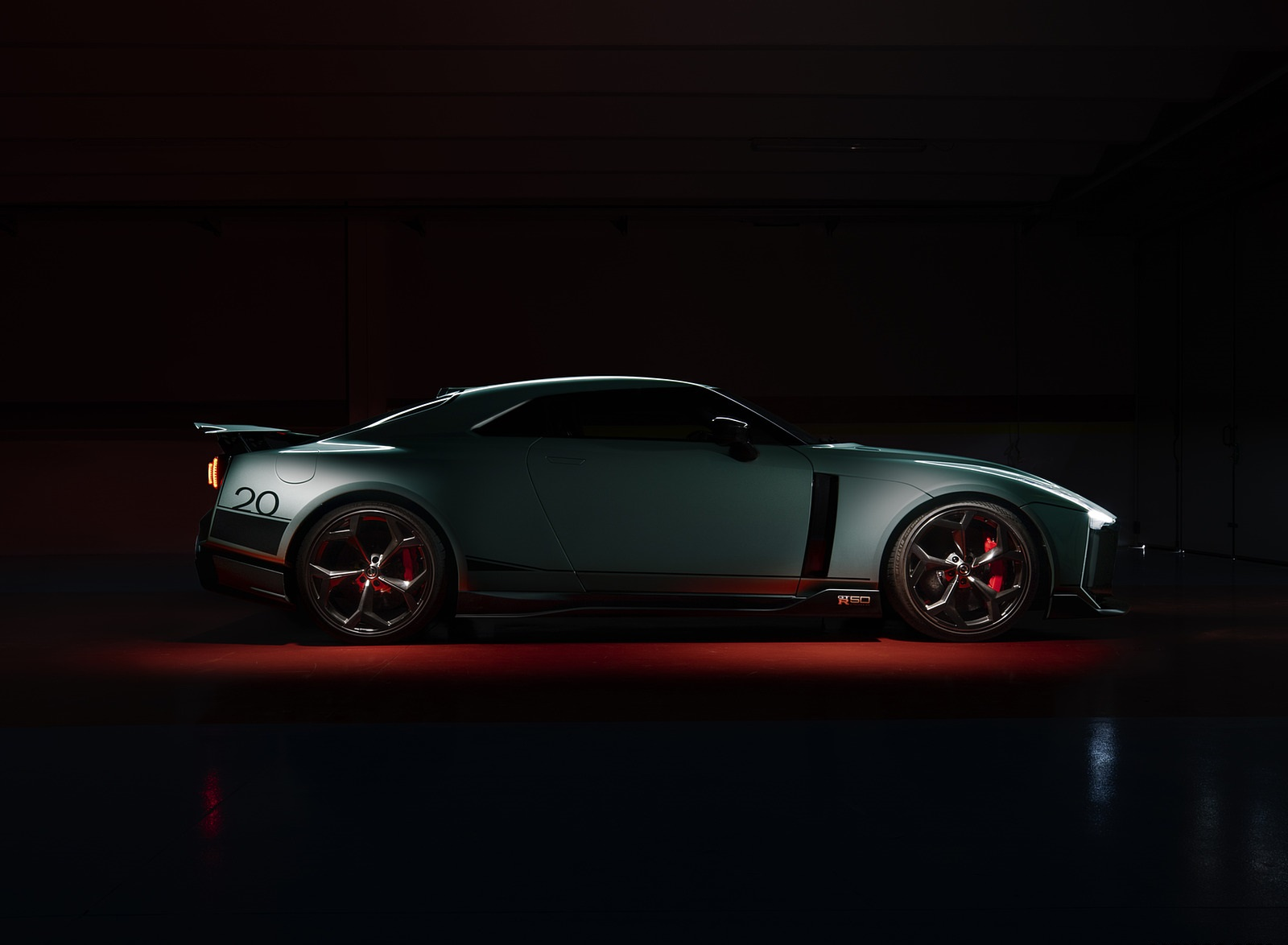 2020 Nissan GT-R 50 by Italdesign Side Wallpapers (8)