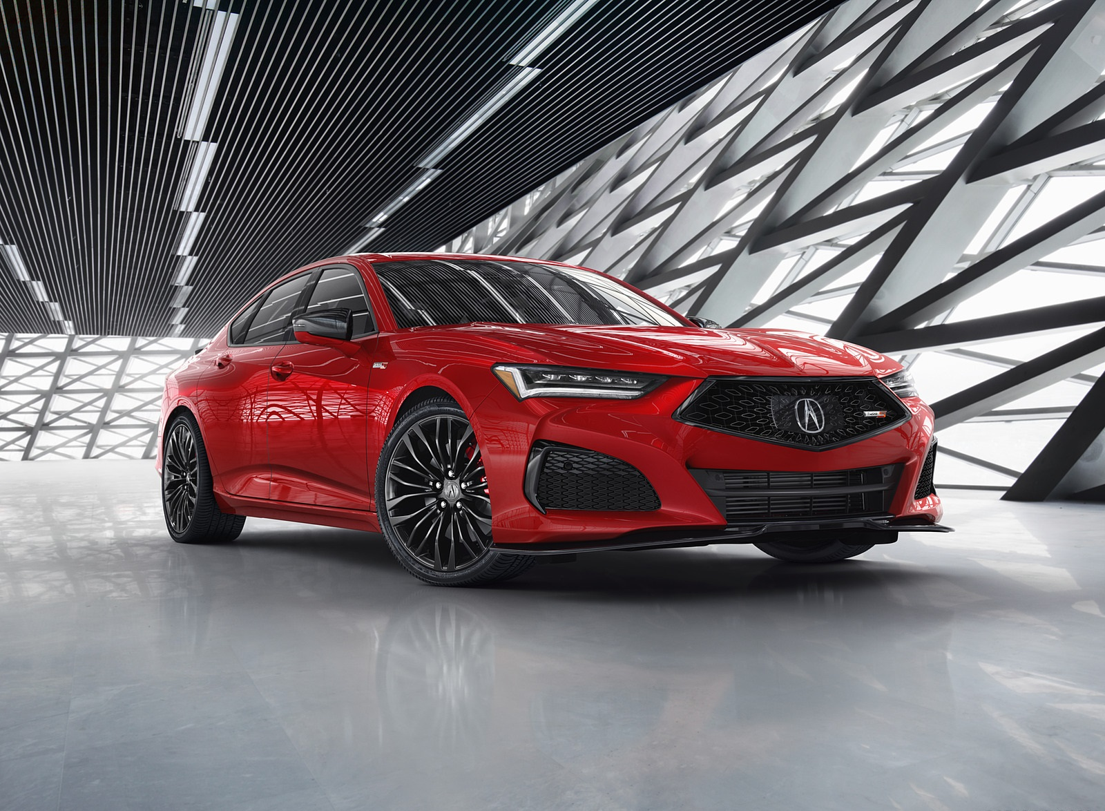 2021 Acura TLX Front Three-Quarter Wallpapers (8)