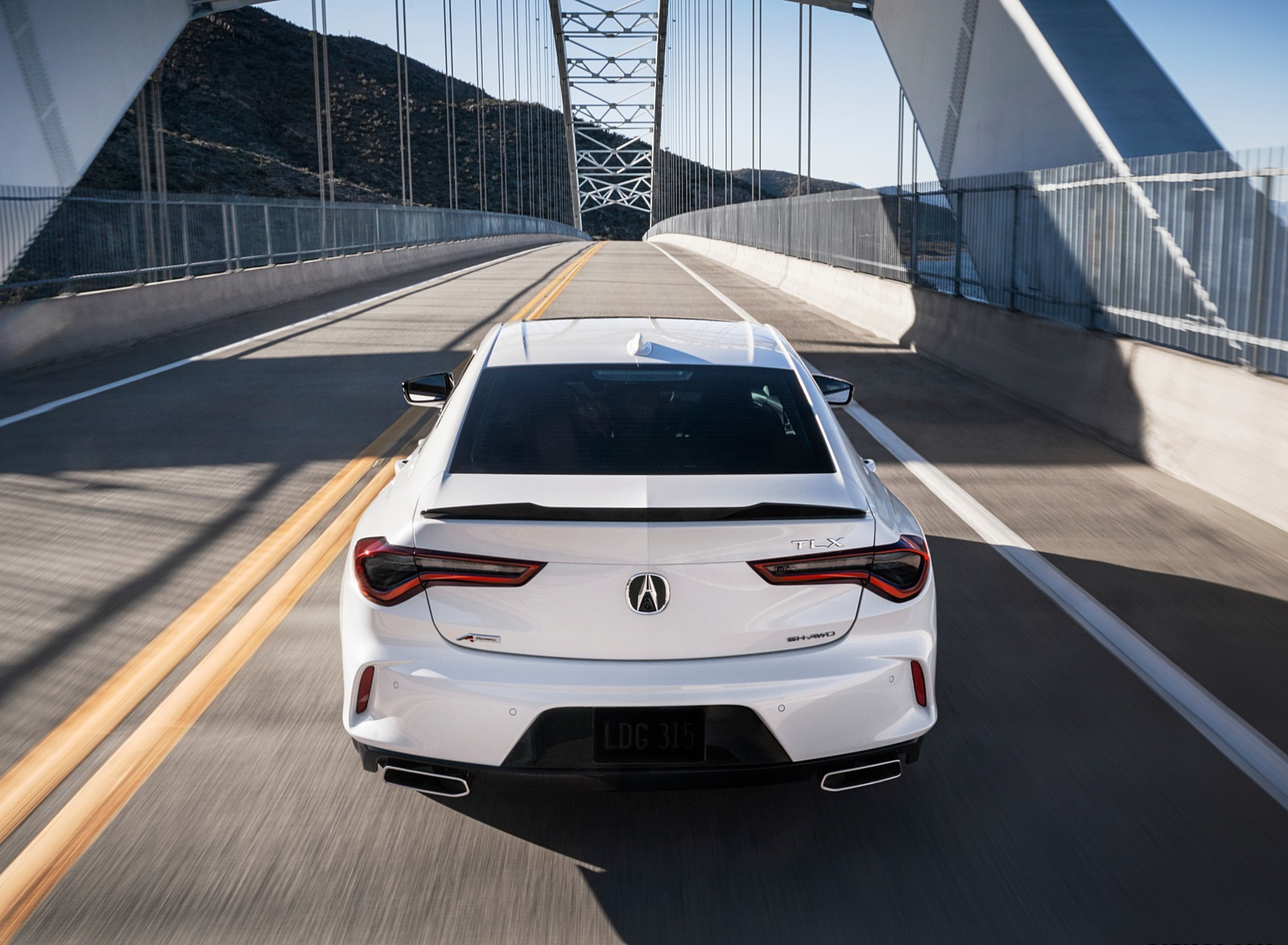 2021 Acura TLX Rear Wallpapers (6)