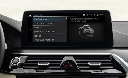 2021 BMW 5 Series Central Console Wallpapers 450x275 (35)