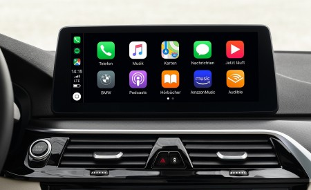 2021 BMW 5 Series Central Console Wallpapers 450x275 (32)