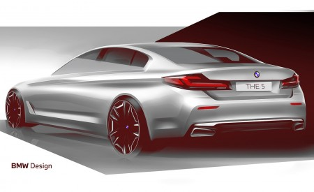 2021 BMW 5 Series Design Sketch Wallpapers 450x275 (42)