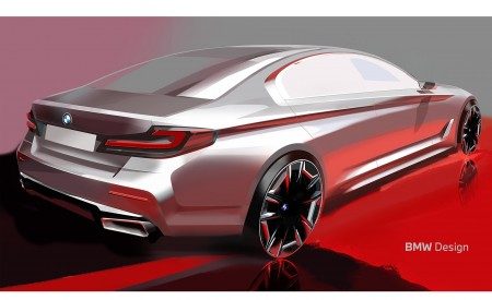 2021 BMW 5 Series Design Sketch Wallpapers 450x275 (43)