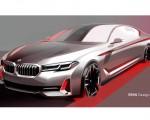 2021 BMW 5 Series Design Sketch Wallpapers 150x120 (41)