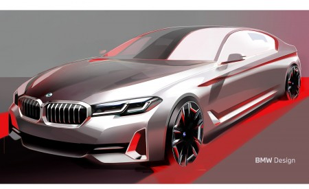 2021 BMW 5 Series Design Sketch Wallpapers 450x275 (41)