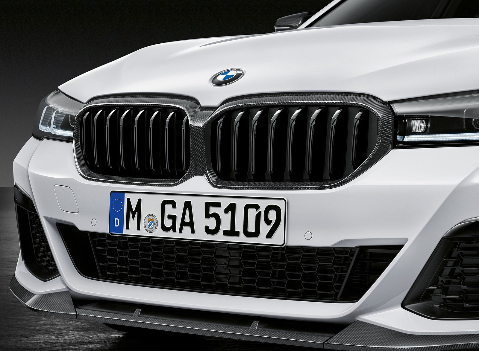 2021 BMW 5 Series M Performance Parts Grill Wallpapers (7)