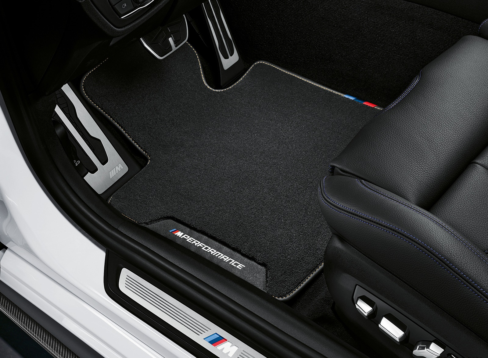 2021 Bmw 5 Series M Performance Parts Interior Floor Mat Wallpapers 20 Newcarcars