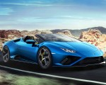2021 Lamborghini Huracán EVO RWD Spyder Front Three-Quarter Wallpapers 150x120 (2)