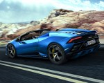 2021 Lamborghini Huracán EVO RWD Spyder Rear Three-Quarter Wallpapers 150x120 (4)