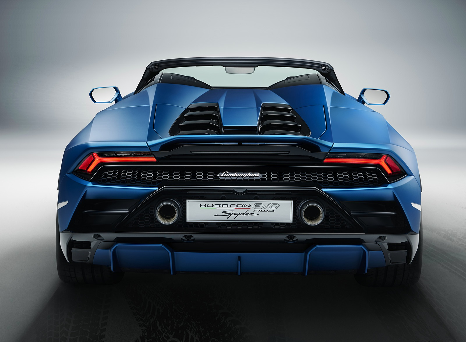 2021 Lamborghini Huracán EVO RWD Spyder Rear Wallpapers (8)
