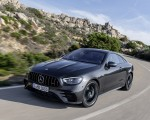 2021 Mercedes-AMG E 53 Coupe (Color: Graphite Grey Metallic) Front Three-Quarter Wallpapers 150x120 (3)