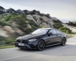 2021 Mercedes-AMG E 53 Coupe (Color: Graphite Grey Metallic) Front Three-Quarter Wallpapers 150x120 (4)