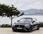 2021 Mercedes-AMG E 53 Coupe (Color: Graphite Grey Metallic) Front Wallpapers 150x120 (17)