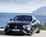 2021 Mercedes-AMG E 53 Coupe (Color: Graphite Grey Metallic) Front Wallpapers 150x120 (18)