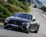 2021 Mercedes-AMG E 53 Coupe (Color: Graphite Grey Metallic) Front Wallpapers 150x120 (7)