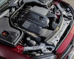 2021 Mercedes-Benz E 450 4MATIC Cabriolet AMG Line (Color: Designo Hyacinth Red Metallic) Engine Wallpapers 150x120 (25)