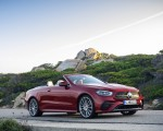 2021 Mercedes-Benz E 450 4MATIC Cabriolet AMG Line (Color: Designo Hyacinth Red Metallic) Front Three-Quarter Wallpapers 150x120 (46)