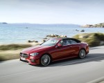 2021 Mercedes-Benz E 450 4MATIC Cabriolet AMG Line (Color: Designo Hyacinth Red Metallic) Front Three-Quarter Wallpapers 150x120 (32)