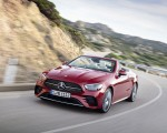 2021 Mercedes-Benz E 450 4MATIC Cabriolet AMG Line (Color: Designo Hyacinth Red Metallic) Front Wallpapers 150x120 (42)