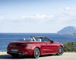 2021 Mercedes-Benz E 450 4MATIC Cabriolet AMG Line (Color: Designo Hyacinth Red Metallic) Rear Three-Quarter Wallpapers 150x120 (48)