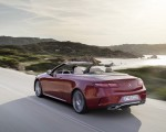 2021 Mercedes-Benz E 450 4MATIC Cabriolet AMG Line (Color: Designo Hyacinth Red Metallic) Rear Three-Quarter Wallpapers 150x120 (35)