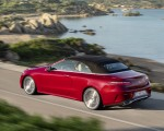 2021 Mercedes-Benz E 450 4MATIC Cabriolet AMG Line (Color: Designo Hyacinth Red Metallic) Rear Three-Quarter Wallpapers 150x120 (43)