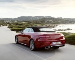 2021 Mercedes-Benz E 450 4MATIC Cabriolet AMG Line (Color: Designo Hyacinth Red Metallic) Rear Three-Quarter Wallpapers 150x120 (36)
