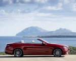 2021 Mercedes-Benz E 450 4MATIC Cabriolet AMG Line (Color: Designo Hyacinth Red Metallic) Side Wallpapers 150x120 (24)