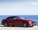 2021 Mercedes-Benz E 450 4MATIC Cabriolet AMG Line (Color: Designo Hyacinth Red Metallic) Side Wallpapers 150x120 (50)