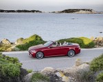 2021 Mercedes-Benz E 450 4MATIC Cabriolet AMG Line (Color: Designo Hyacinth Red Metallic) Side Wallpapers 150x120 (23)