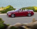 2021 Mercedes-Benz E 450 4MATIC Cabriolet AMG Line (Color: Designo Hyacinth Red Metallic) Side Wallpapers 150x120 (39)