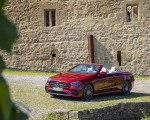 2021 Mercedes-Benz E 450 4MATIC Cabriolet (Color: Patagonia Red) Front Three-Quarter Wallpapers 150x120 (7)