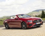 2021 Mercedes-Benz E 450 4MATIC Cabriolet (Color: Patagonia Red) Front Three-Quarter Wallpapers 150x120 (5)