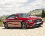 2021 Mercedes-Benz E 450 4MATIC Cabriolet (Color: Patagonia Red) Front Three-Quarter Wallpapers 150x120 (6)