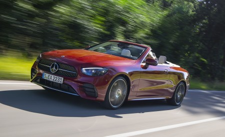 2021 Mercedes-Benz E Cabriolet Wallpapers HD