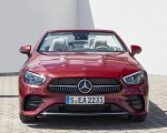 2021 Mercedes-Benz E 450 4MATIC Cabriolet (Color: Patagonia Red) Front Wallpapers 150x120 (8)