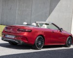 2021 Mercedes-Benz E 450 4MATIC Cabriolet (Color: Patagonia Red) Rear Three-Quarter Wallpapers 150x120 (11)