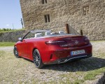 2021 Mercedes-Benz E 450 4MATIC Cabriolet (Color: Patagonia Red) Rear Three-Quarter Wallpapers 150x120 (10)