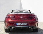 2021 Mercedes-Benz E 450 4MATIC Cabriolet (Color: Patagonia Red) Rear Wallpapers 150x120 (13)