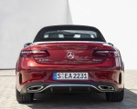2021 Mercedes-Benz E 450 4MATIC Cabriolet (Color: Patagonia Red) Rear Wallpapers 150x120 (12)