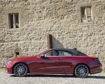 2021 Mercedes-Benz E 450 4MATIC Cabriolet (Color: Patagonia Red) Side Wallpapers 150x120 (17)