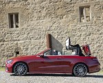 2021 Mercedes-Benz E 450 4MATIC Cabriolet (Color: Patagonia Red) Side Wallpapers 150x120 (14)