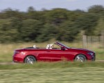 2021 Mercedes-Benz E 450 4MATIC Cabriolet (Color: Patagonia Red) Side Wallpapers 150x120 (3)
