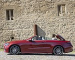 2021 Mercedes-Benz E 450 4MATIC Cabriolet (Color: Patagonia Red) Side Wallpapers 150x120 (16)