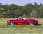 2021 Mercedes-Benz E 450 4MATIC Cabriolet (Color: Patagonia Red) Side Wallpapers 150x120 (4)