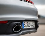 2021 Porsche 911 Targa 4 (Color: Dolomite Silver Metallic) Exhaust Wallpapers 150x120 (20)